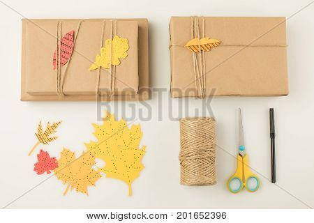 Handmade Wrapped Gifts