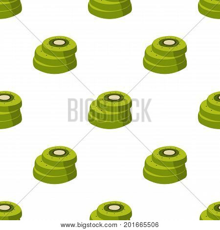 Kiwi, sweet and sour fruit. The fruit single icon in cartoon style vector symbol stock illustration .