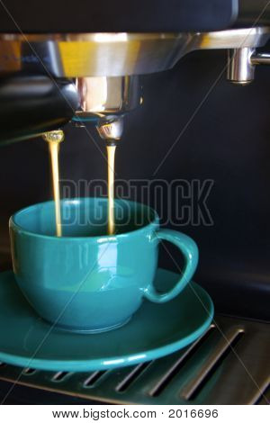 Green Coffee Cup