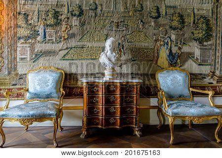 Christian Vi Room, Rosenborg Castle, Denmark