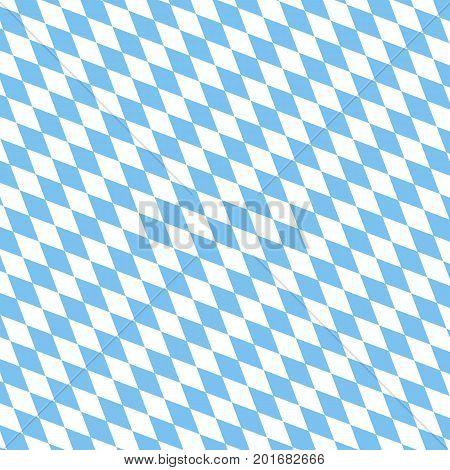Bayern pattern background. Traditional German Oktoberfest bier festival. Vector lettering illustration.