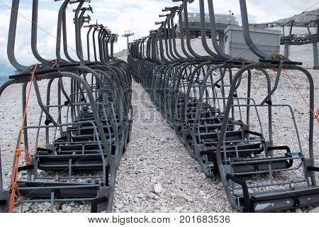 Cable Car At Tofana Di Mezzo
