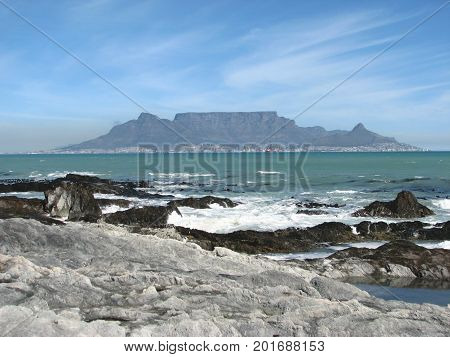 THIS IS THE ONE AND ONLY BLOUBERG STRAND, CAPE TOWN, SOUTH AFRICA