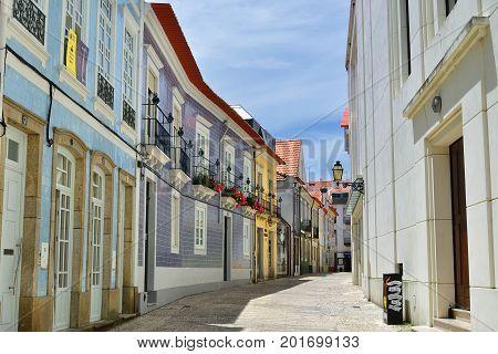 Street In Aveiro, Portugal