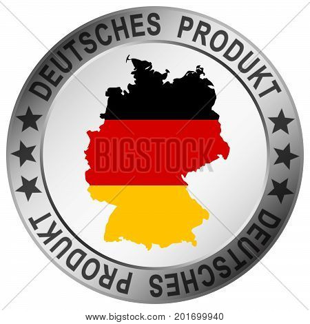 Round Quality Button German Product