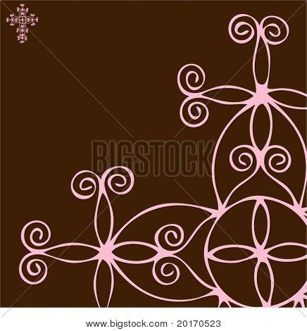 seamless funky celtic like pattern vector