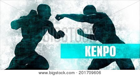 Kenpo Martial Arts Self Defence Training Concept