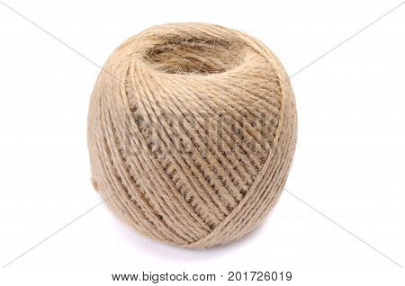 small skein of jute twine for packaging