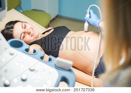 .Ultrasound machine doctor
