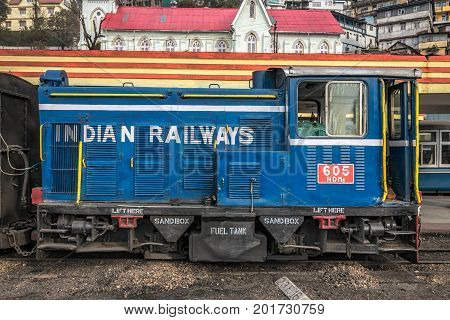 Famous Darjeeling steam train was Built between 1879 and 1881 and now is World Heritage Site by UNESCO, India.