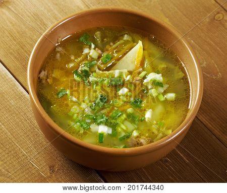 Russian Soup Rassolnik