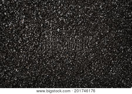 Background of crushed anthracite texture