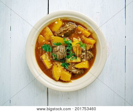 Beef and Butternut Squash Stew, French cuisine