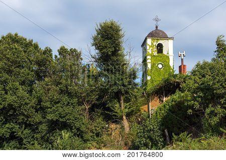 St. Nicholas Church at the beach of Chernomorets, Burgas region, Bulgaria