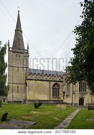 St. Andrews Church & Spire Chippenham Wiltshire