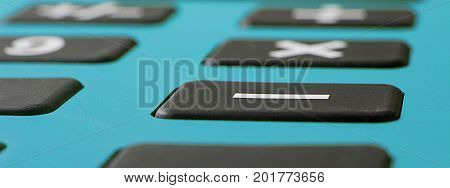 Calculator Close up. Tax calculator concept.  Tax calculator