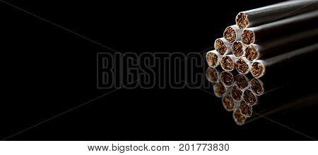 Tobacco Cigarettes Background. Tobacco Cigarettes Background. Cigarette
