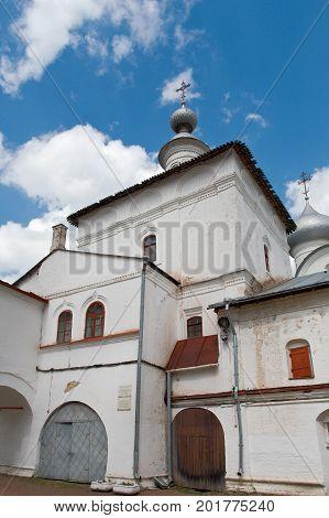 Vologda europe Russia. old russian Orthodox church