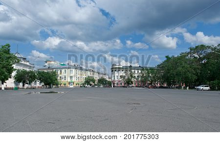 historic building - Vologda city  europe Russia