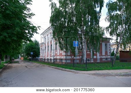 historic building - Vologda city Russia, Russian  summer  tourism