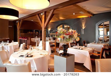 Restaurant In Classic Style