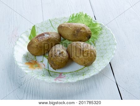 Canarian Wrinkly Potatoes