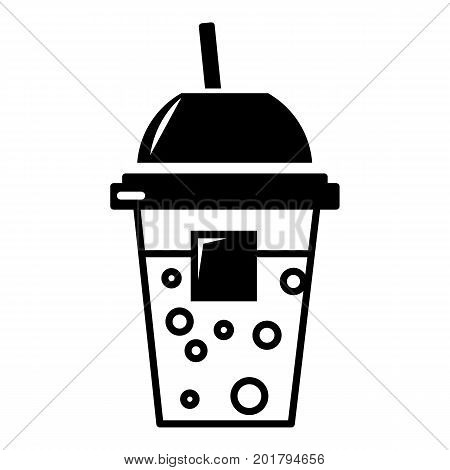 Soda icon. Simple illustration of soda vector icon for web
