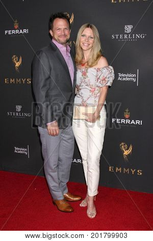 LOS ANGELES - AUG 23:  Scott Martin, Lauralee Bell at the Daytime Television Stars Celebrate Emmy Awards Season at the Saban Media Center on August 23, 2017 in North Hollywood, CA