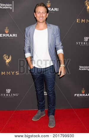 LOS ANGELES - AUG 23:  Eric Nelsen at the Daytime Television Stars Celebrate Emmy Awards Season at the Saban Media Center at the Television Academy on August 23, 2017 in North Hollywood, CA