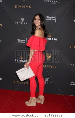 LOS ANGELES - AUG 23:  Camila Banus at the Daytime Television Stars Celebrate Emmy Awards Season at the Saban Media Center at the Television Academy on August 23, 2017 in North Hollywood, CA