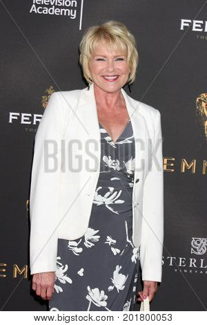 LOS ANGELES - AUG 23:  Judi Evans at the Daytime Television Stars Celebrate Emmy Awards Season at the Saban Media Center at the Television Academy on August 23, 2017 in North Hollywood, CA