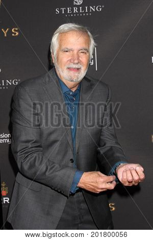 LOS ANGELES - AUG 23:  John McCook at the Daytime Television Stars Celebrate Emmy Awards Season at the Saban Media Center at the Television Academy on August 23, 2017 in North Hollywood, CA