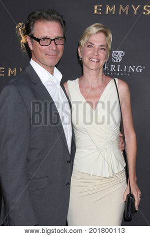 LOS ANGELES - AUG 23:  James DePaiva, Kassie DePaiva at the Daytime Television Stars Celebrate Emmy Awards Season at the Saban Media Center  on August 23, 2017 in North Hollywood, CA