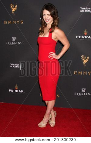 LOS ANGELES - AUG 23:  Linsey Godfrey at the Daytime Television Stars Celebrate Emmy Awards Season at the Saban Media Center at the Television Academy on August 23, 2017 in North Hollywood, CA
