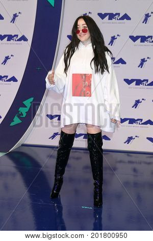 LOS ANGELES - AUG 27:  Noah Cyrus at the MTV Video Music Awards 2017 at The Forum on August 27, 2017 in Inglewood, CA