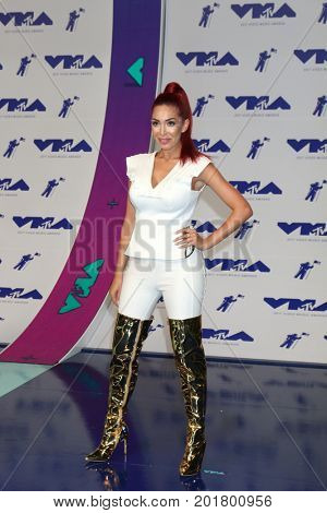 LOS ANGELES - AUG 27:  Farrah Abraham at the MTV Video Music Awards 2017 at The Forum on August 27, 2017 in Inglewood, CA