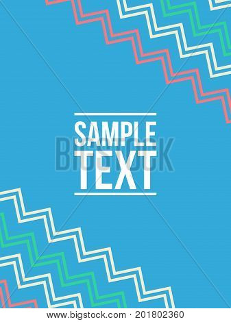 Collection stock pattern style abstract background vector art