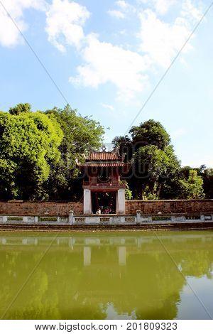 Famous architecture in Hanoi, Vietnam, wellcom to vietnam