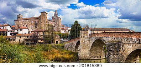 impressive medieval Bormida monastery and castle in regione Asti, Piedmont. Italy
