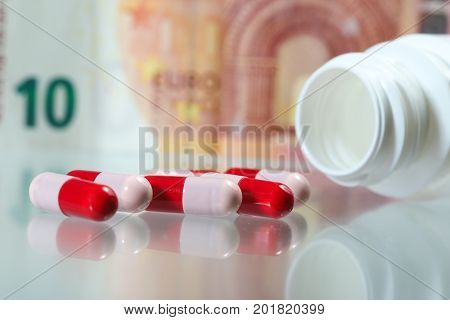 Pharmacy industry proibiotics and money High costs of expensive medication