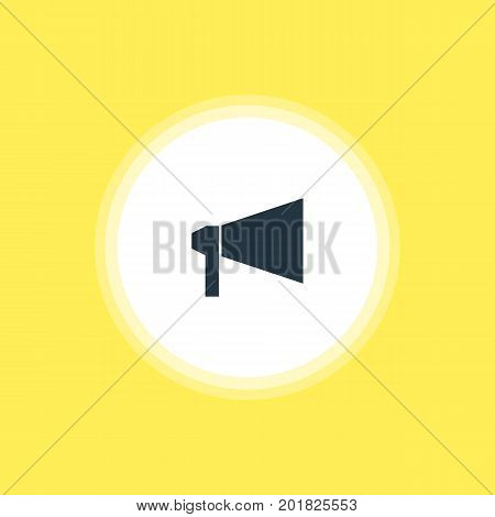 Beautiful Online Element Also Can Be Used As Bullhorn Element.  Vector Illustration Of Announce Icon.
