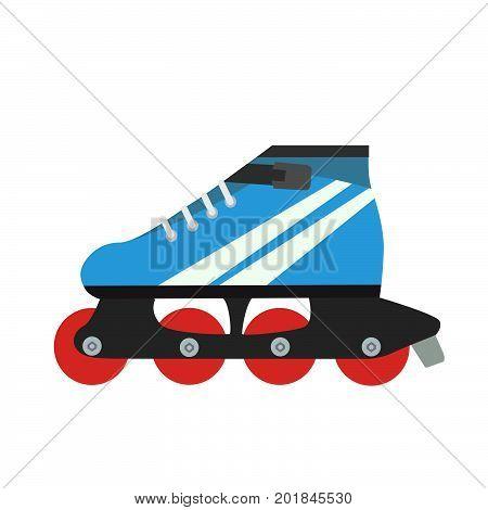Roller skate vector skating illustration retro isolated sport fun design vintage boot art