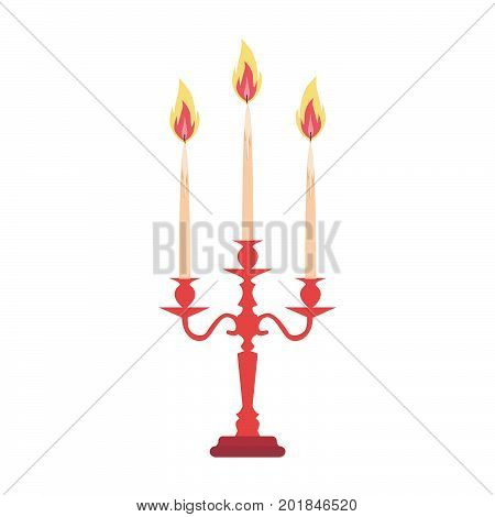 Candelabra candlestick chandelier candle vector isolated vintage antique holder silhouette illustration