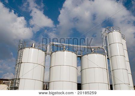 Factory Storage Tanks