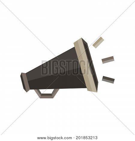 Megaphone icon vector sign illustration speaker symbol design loud