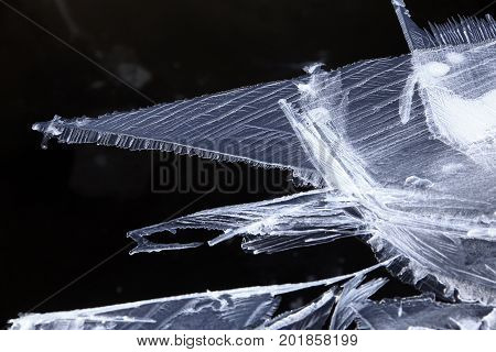 Texture Of Fine Ice Crystals