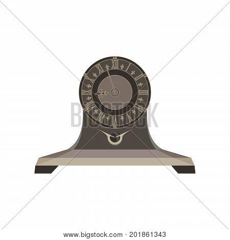 Clock time retro alarm vector watch background vintage old hour timer minute concept design