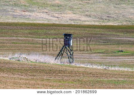 The Ranger High seat in the middle of the field