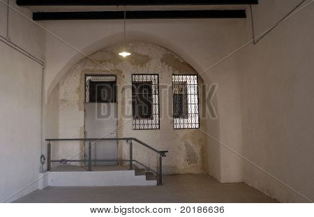 Door to Prison Cell