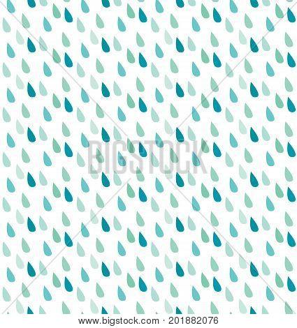 Seamless Rain Pattern